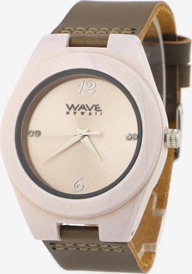 Wave Hawaii Montre à affichage analogique ' Weißer Ahorn ' en blanc naturel, Vue avec produit