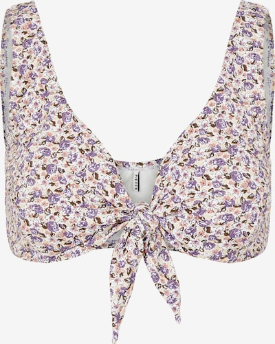 PIECES Bikini Top 'Nukana' in Purple / Mixed colors, Item view