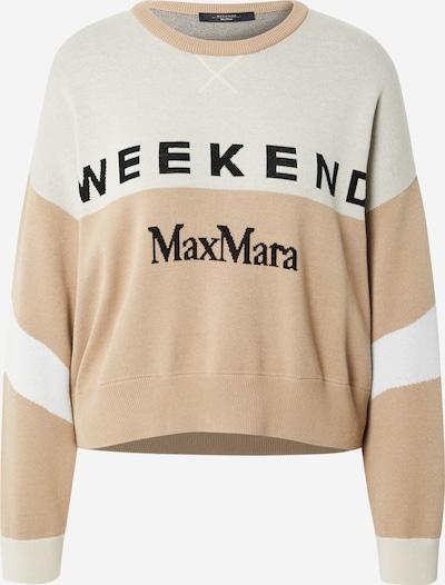 Pullover 'PAIO' Weekend Max Mara di colore beige / nero / bianco, Visualizzazione prodotti