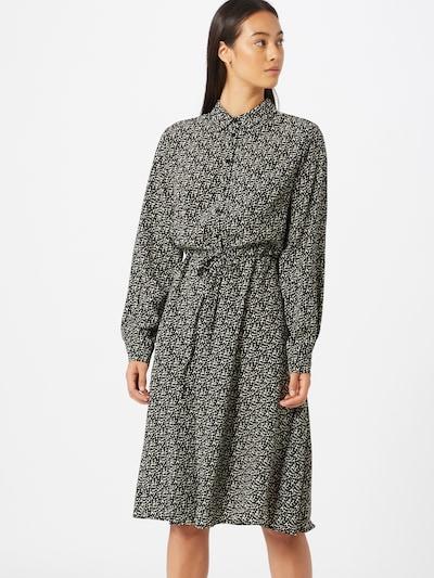 SISTERS POINT Košeľové šaty 'Vike-DR1' - čierna / biela, Model/-ka