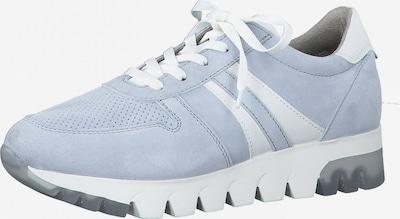 Sneaker low TAMARIS pe albastru deschis / alb, Vizualizare produs