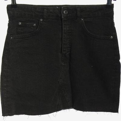 Gina Tricot Jeansrock in M in schwarz, Produktansicht