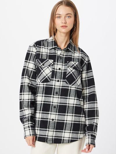 REPLAY Bluse in schwarz / weiß, Modelansicht