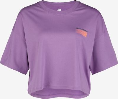 new balance Sport Style Optiks Boxy T-Shirt Damen in lila, Produktansicht