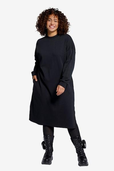 Studio Untold Kleid in de kleur Zwart, Modelweergave