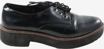 Bershka Flats & Loafers in 38 in Black, Item view