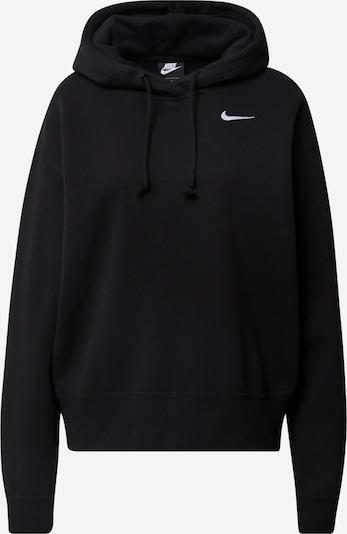 NIKE Sweatshirt 'Trend' in schwarz / weiß, Produktansicht