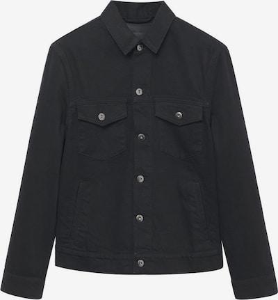 MANGO MAN Jeansjacke 'Ryan' in black denim, Produktansicht