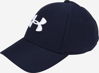 UNDER ARMOUR Cap 'Blitzing' in nachtblau / weiß, Produktansicht