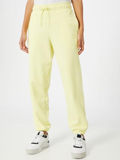 PUMA Hose in limone, Modelansicht