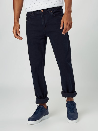 Nudie Jeans Co Jeans 'Gritty Jackson' in black denim: Frontalansicht