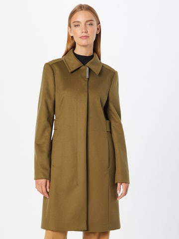 BOSS Płaszcz przejściowy 'Casena' w kolorze zielony