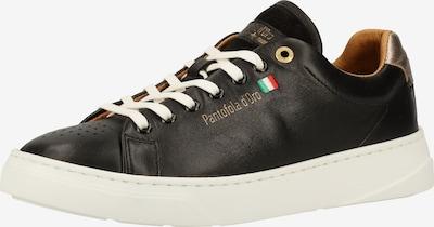 PANTOFOLA D'ORO Sneaker in gold / schwarz, Produktansicht