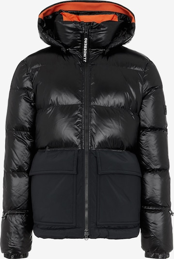 J.Lindeberg Winter Jacket in Orange / Black, Item view