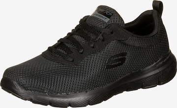 SKECHERS Rövid szárú edzőcipők 'Flex Appeal 3.0' - fekete