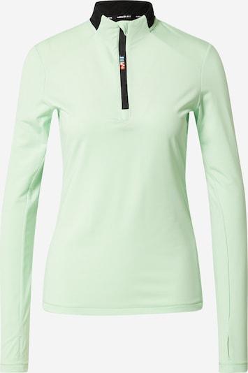 Rukka Sportshirt in pastellgrün / schwarz, Produktansicht