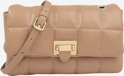 Seidenfelt Manufaktur Tasche 'Kiruna' in hellbeige / gold, Produktansicht