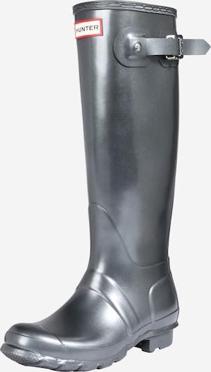 HUNTER Botas de lluvia en plata, Vista del producto