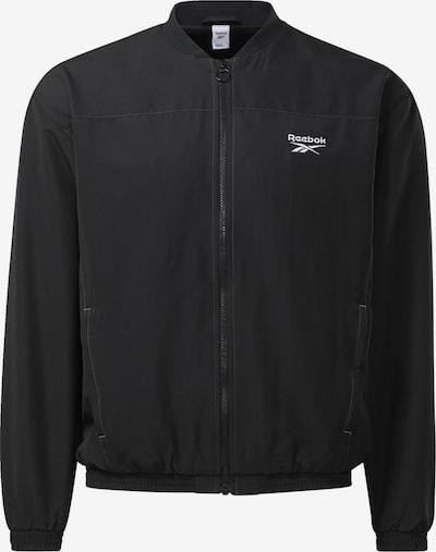 Reebok Classics Sportjacke in schwarz, Produktansicht