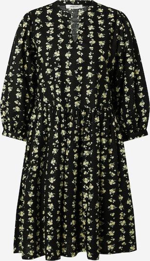 MOSS COPENHAGEN Robe 'Clarabel' en jaune clair / vert pastel / noir, Vue avec produit