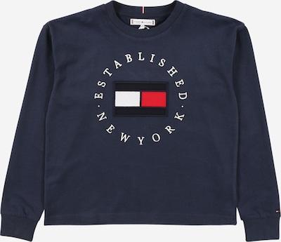 TOMMY HILFIGER Shirt in navy / feuerrot / weiß, Produktansicht