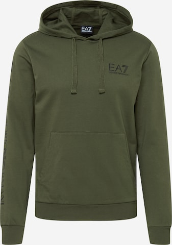 Sweat-shirt EA7 Emporio Armani en vert