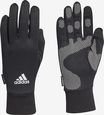 ADIDAS PERFORMANCE Sporthandschuhe in schwarz / weißmeliert, Produktansicht