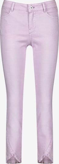 TAIFUN Skinny Jeans mit Fransenkanten in helllila, Produktansicht