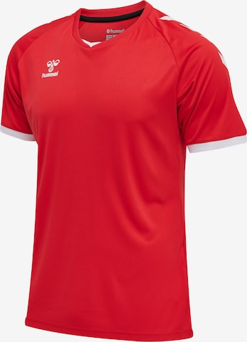 T-Shirt fonctionnel Hummel en rouge
