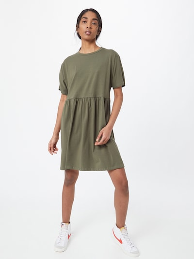 Noisy may Kleid 'Kerry' in khaki, Modelansicht
