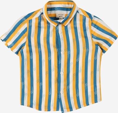 River Island Koszula w kolorze błękitny / złoty żółty / białym, Podgląd produktu