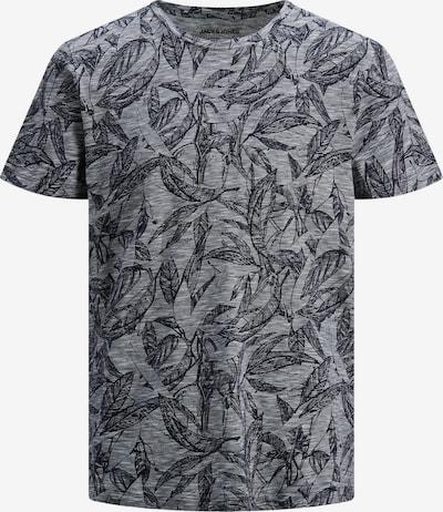 Marškinėliai 'Lefo' iš Jack & Jones Plus, spalva – tamsiai mėlyna / margai pilka, Prekių apžvalga