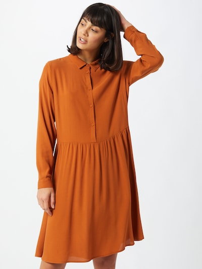 minimum Kleid 'Bindie' in camel, Modelansicht