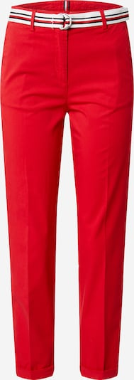 TOMMY HILFIGER Chino in de kleur Rood / Zwart / Wit, Productweergave