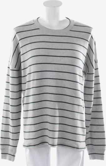 DENHAM Pullover in XS in graumeliert / grün, Produktansicht