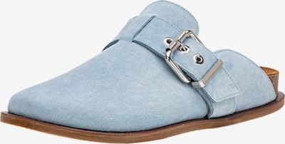 INUOVO Sabots en bleu clair, Vue avec produit