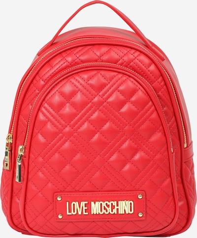 Rucsac Love Moschino pe roșu, Vizualizare produs