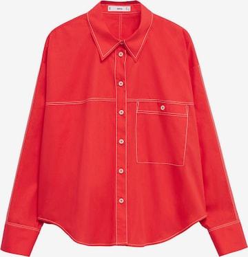 MANGO Bluse 'Leon' in Rot