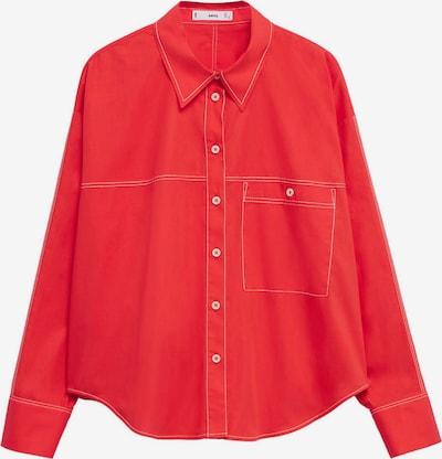 Bluză 'Leon' MANGO pe roșu, Vizualizare produs