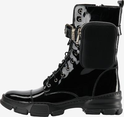 myMo ROCKS Stiefelette in schwarz, Produktansicht