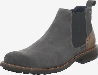 JOSEF SEIBEL Chelsea Boots 'Jasper' in braun / basaltgrau, Produktansicht