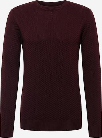 Kronstadt Sweater 'Carlo' in Red