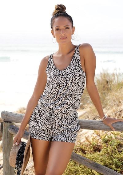 BUFFALO Jumpsuit in beige / schwarz / weiß, Modelansicht