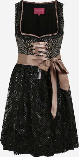 Krüger Madl Dirndl in rose gold / black, Item view
