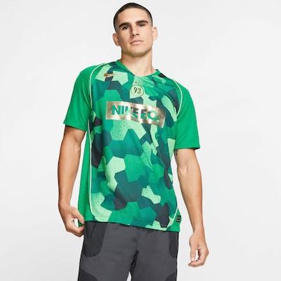 NIKE Fußballtrikot 'Kylian Mbappé' in gold / grün / smaragd / dunkelgrün, Produktansicht