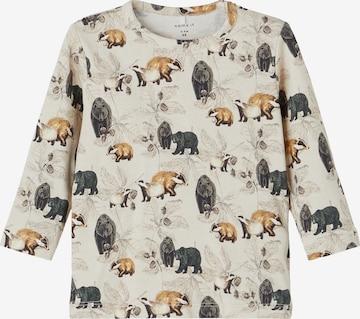 NAME IT Shirt 'Niclas' in Beige