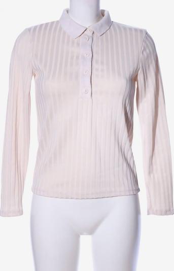MANGO Polo-Shirt in S in creme, Produktansicht