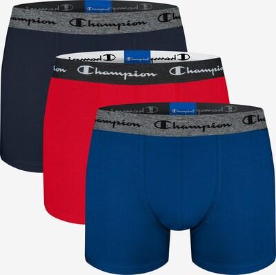 Champion Authentic Athletic Apparel Boxers en bleu / bleu marine / rouge, Vue avec produit