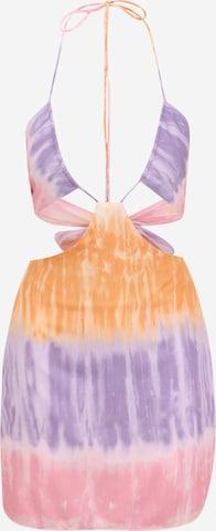 Missguided Petite Letné šaty - zmiešané farby