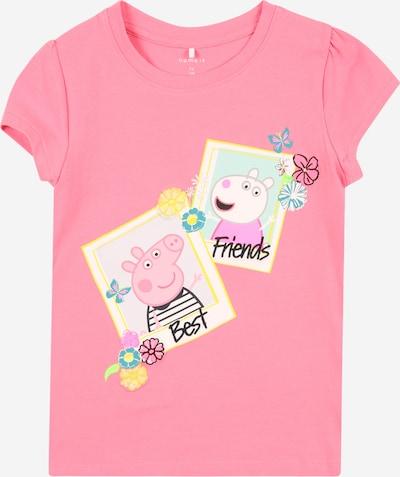 NAME IT Shirt 'Megan' in de kleur Beige / Geel / Pink, Productweergave